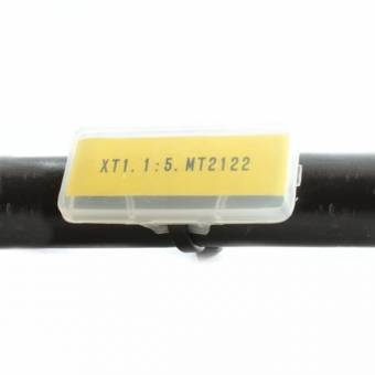 Oznaczniki kablowe MPL-1, długość 30 mm, szerokość 9 mm, 100 szt.