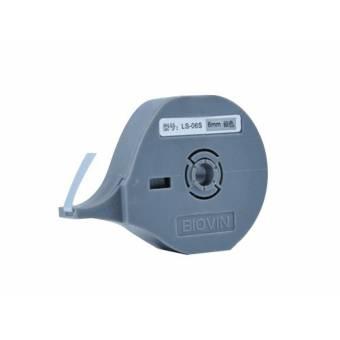 LS-06S taśma samoprzylepna srebrna 6 mm do drukarek oznaczników K900 i S700E