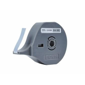 LS-09S taśma samoprzylepna srebrna 9 mm do drukarek oznaczników K900 i S700E