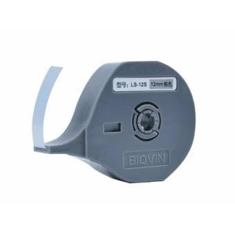 LS-12 S Taśma samoprzylepna srebrna 12mm do drukarek oznaczników K900 i S700E