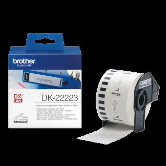 Etykiety Brother DK22223, taśma ciągła o szerokości 50mm do drukarek etykiet QL