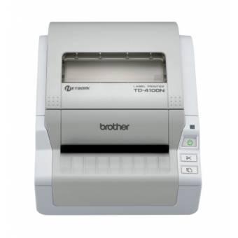 Brother TD 4100N termiczna, sieciowa drukarka etykiet wysyłkowych, max szer.102mm