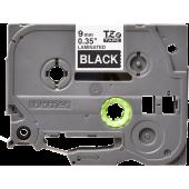 Taśma Brother TZe-325 9mm czarna biały nadruk