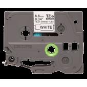 Rurka termokurczliwa  Brother HSe-221– czarny nadruk na białym tle, 8.8mm szerokości