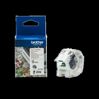 Taśma Brother CZ-1001, 9 mm, do druku etykiet kolorowych