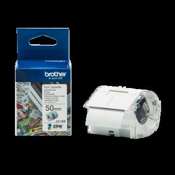Taśma Brother CZ-1005, 50 mm, do druku etykiet kolorowych