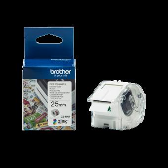 Taśma Brother CZ-1004, 25 mm, do druku etykiet kolorowych